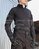 Убакс боевая рубашка CoolPass antistatic черная с налокотниками