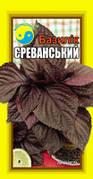 """Базилик фиолетовый Ереванский 150-200шт ТМ """"Флора Плюс"""""""