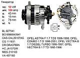 Статорная обмотка OPEL Astra F 1.7 TDS, Combo 1.7 D, Vectra B 1.7 TD, фото 3