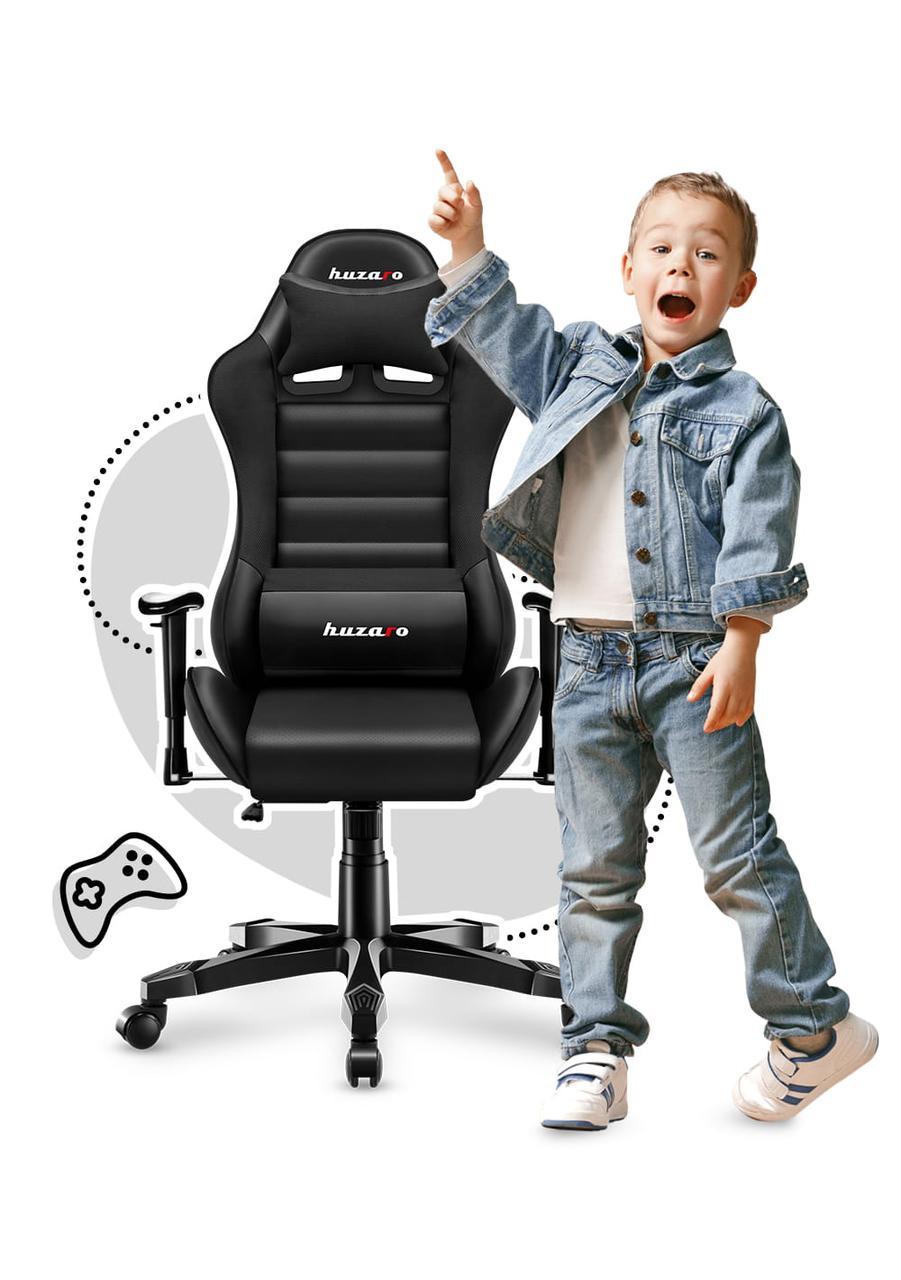 Крісло геймерське дитяче HUZARO Нова генерація RANGER 6.0 Black