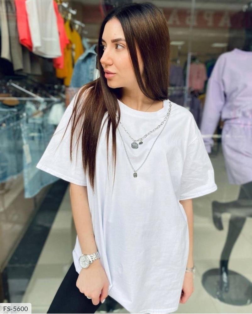 Женская футболка с цепочками
