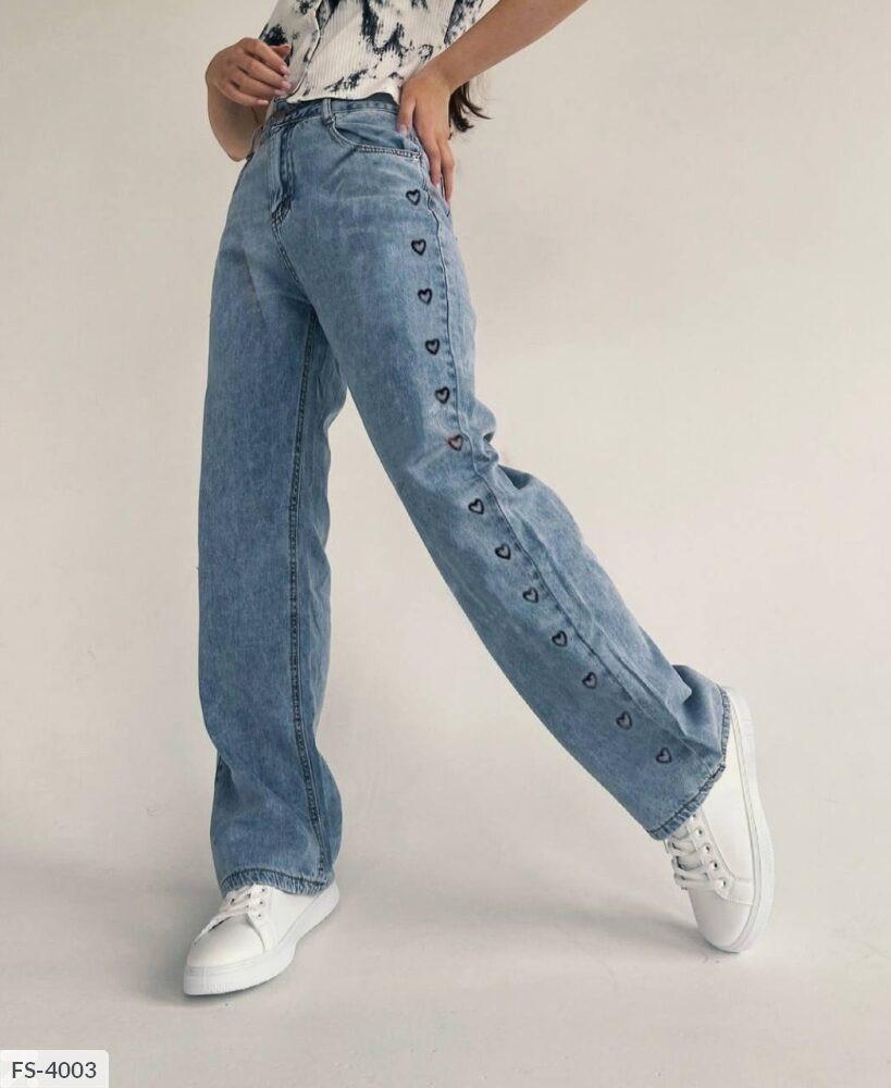 Жіночі джинси «палаццо»