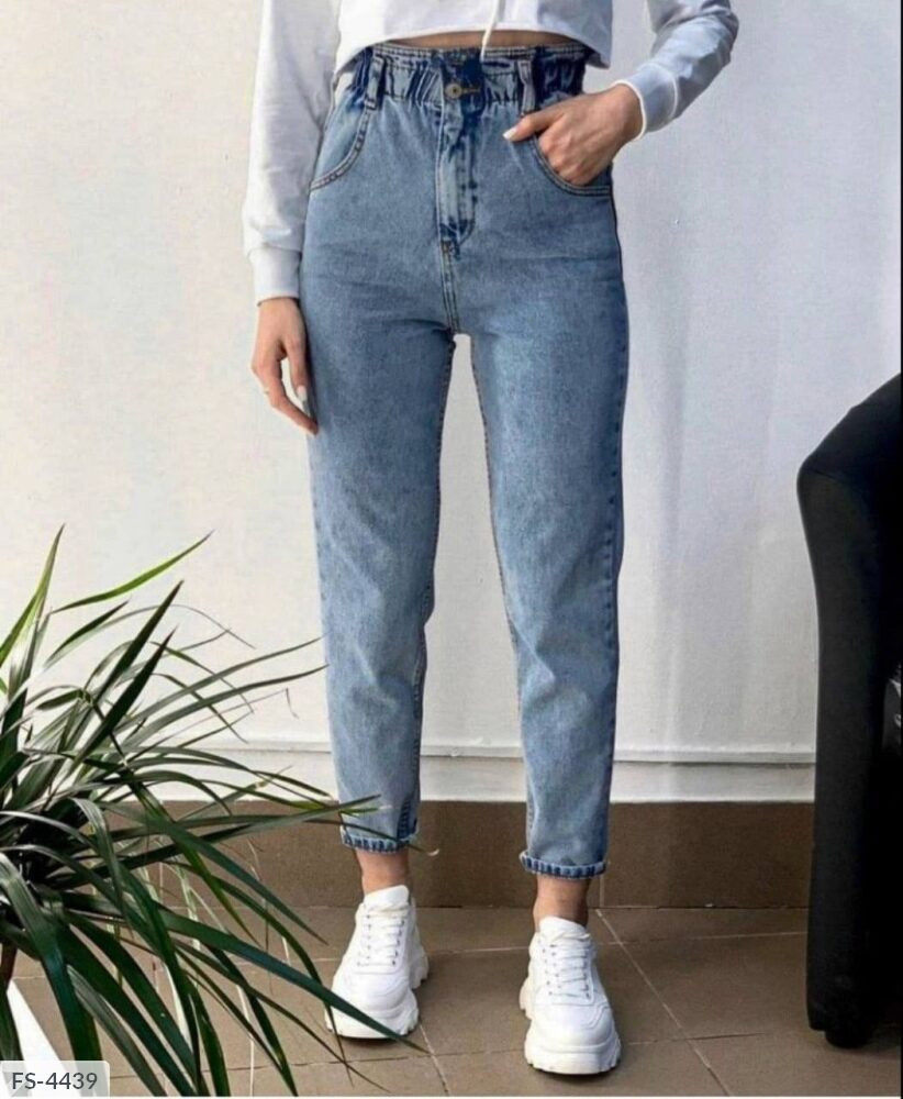 Жіночі джинси баггі