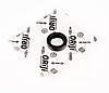 Сальник штоку вибору передач ORIJI Ліфан 620 Солано Lifan 620 Solano LF481Q1-1702036A