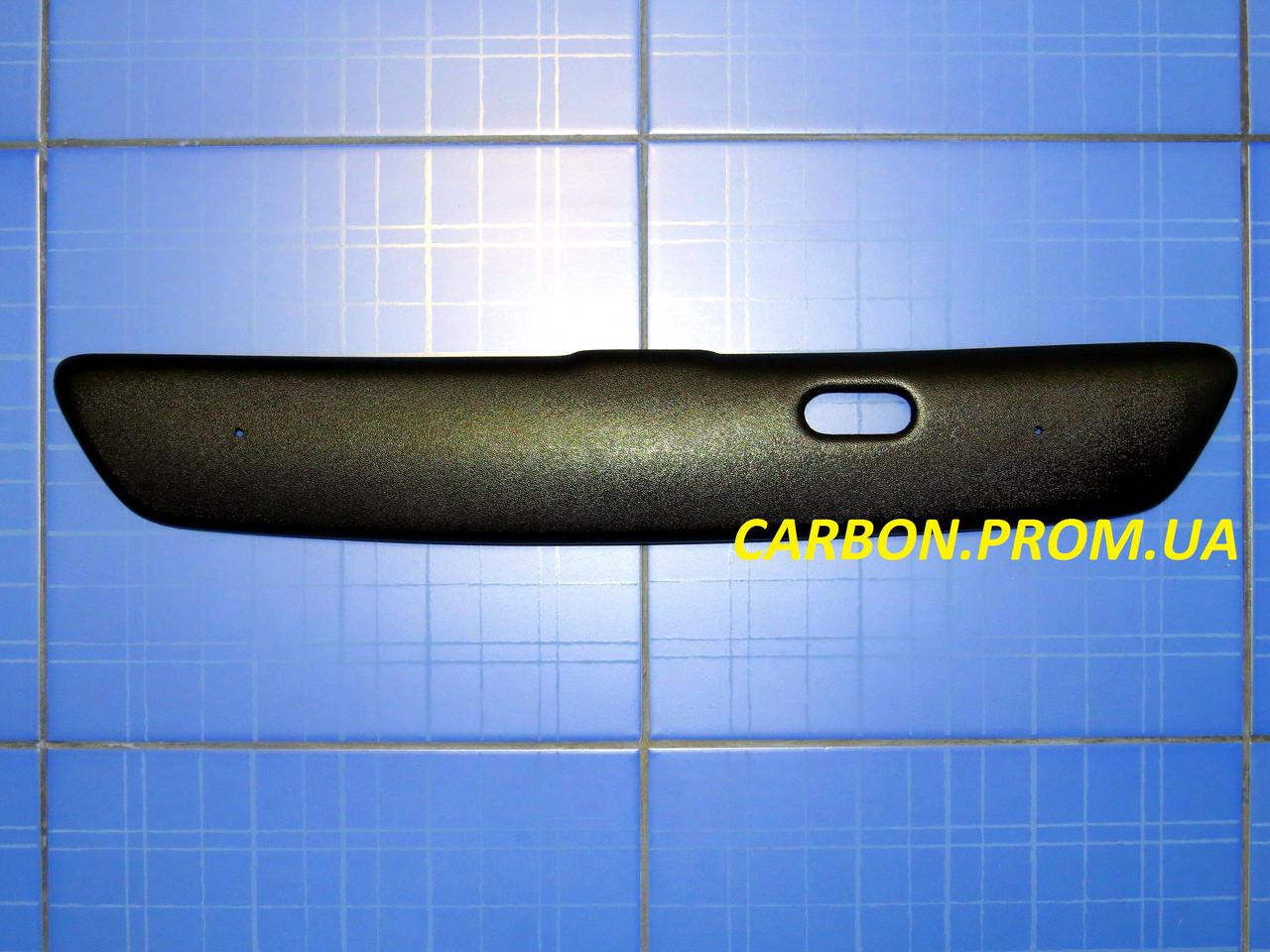 Зимова заглушка решітки радіатора Опель Астра G верх 1998-2008 матова Fly. Утеплювач решітки Opel Astra G
