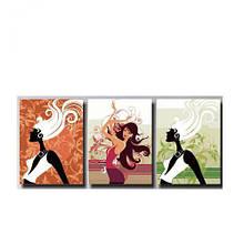 """Картины по номерам """"Триптих: В ритме танца"""""""