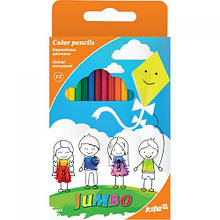 """Кольорові олівці """"Jumbo"""", 12 кольорів"""