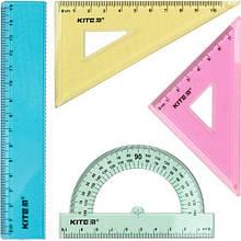 """Набор линеек """"Ruler Set"""", разноцветный"""