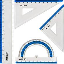 """Набор линеек """"Ruler Set"""", голубой"""