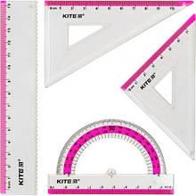 """Набор линеек """"Ruler Set"""", розовый"""