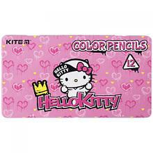 """Набір кольорових олівців """"Hello Kitty"""", 12 штук"""