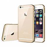 Бампер iPhone 6S/6 алюминевый с задней крышкой. Luoya. Черный, фото 4