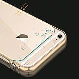 Бампер iPhone 6S/6 алюминевый с задней крышкой. Luoya. Черный, фото 3