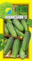 """ОГІРОК НІЖИНСЬКИЙ 12 (обр.) ТМ """"Флора Плюс"""" 1 г"""