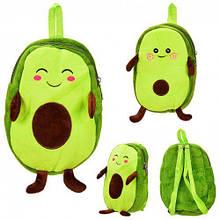 """Плюшевый рюкзачок """"Авокадо"""""""