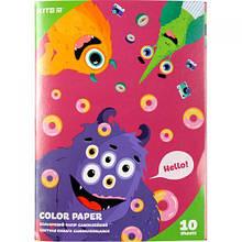 """Самоклеюча кольоровий папір А5 """"Jolliers"""", 10 аркушів"""