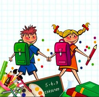 Детские канцтовары и книги