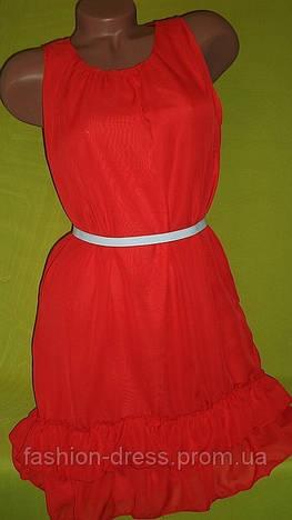 Шифоновое платье 1104 КР