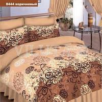 Еврокомплект постельного белья ТМ Вилюта,  ткань ранфорс-платинум