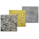 Самоклеючі шпалери Декоративна 3D панель ПВХ 1 шт, катеринославський цегла (пісковик), фото 2