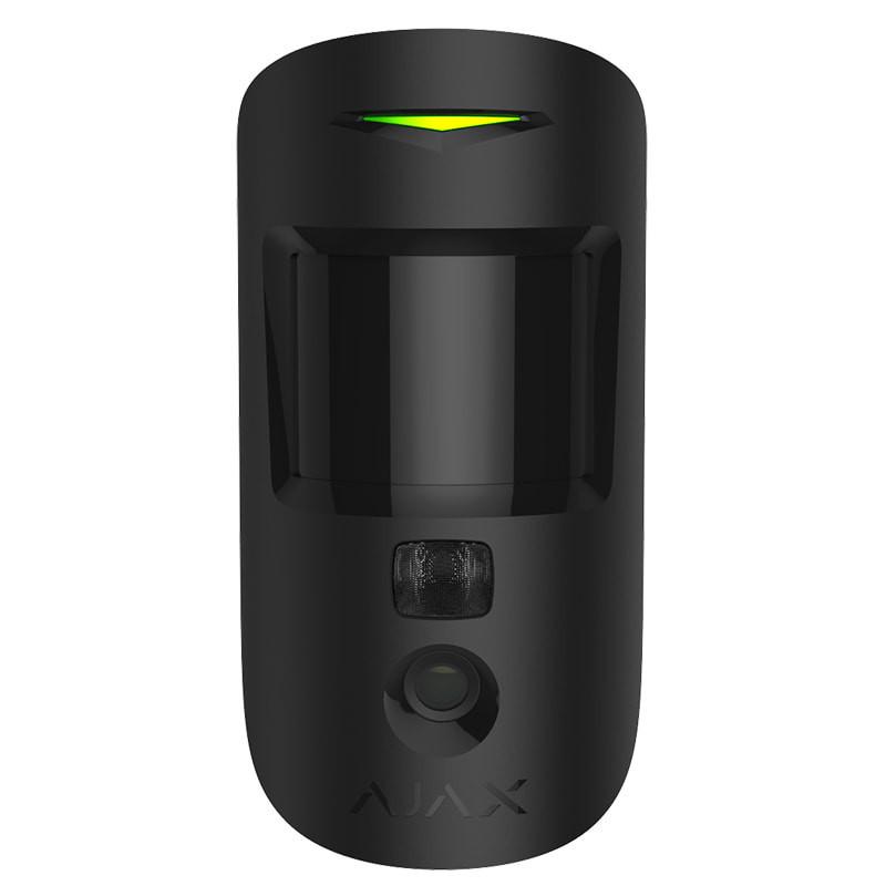 Бездротовий датчик руху Ajax MotionCam Black