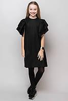 Школьное платье для девочки с объёмными рукавами на рост от 134 до 164 см, фото 1