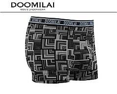 Мужские боксеры стрейчевые из бамбука «DOOMILAI» Арт.D-01351