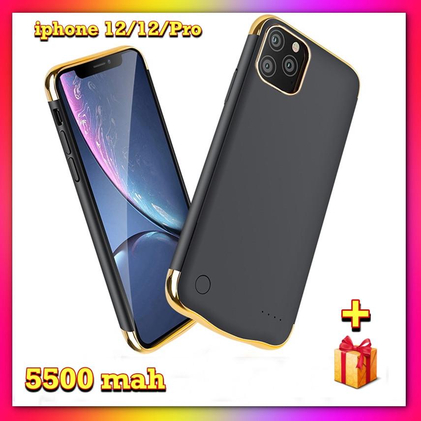 Портативна батарея DT-07 для iPhone 12 /12Pro на 5500 маг Чохол зарядка акумулятор для айфона + ПОДАРУНОК