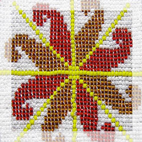 Значение вышитых символов: вышивка бисером