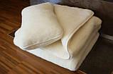 Ковдра з овечої вовни двостороннє, Двоспальне, фото 2