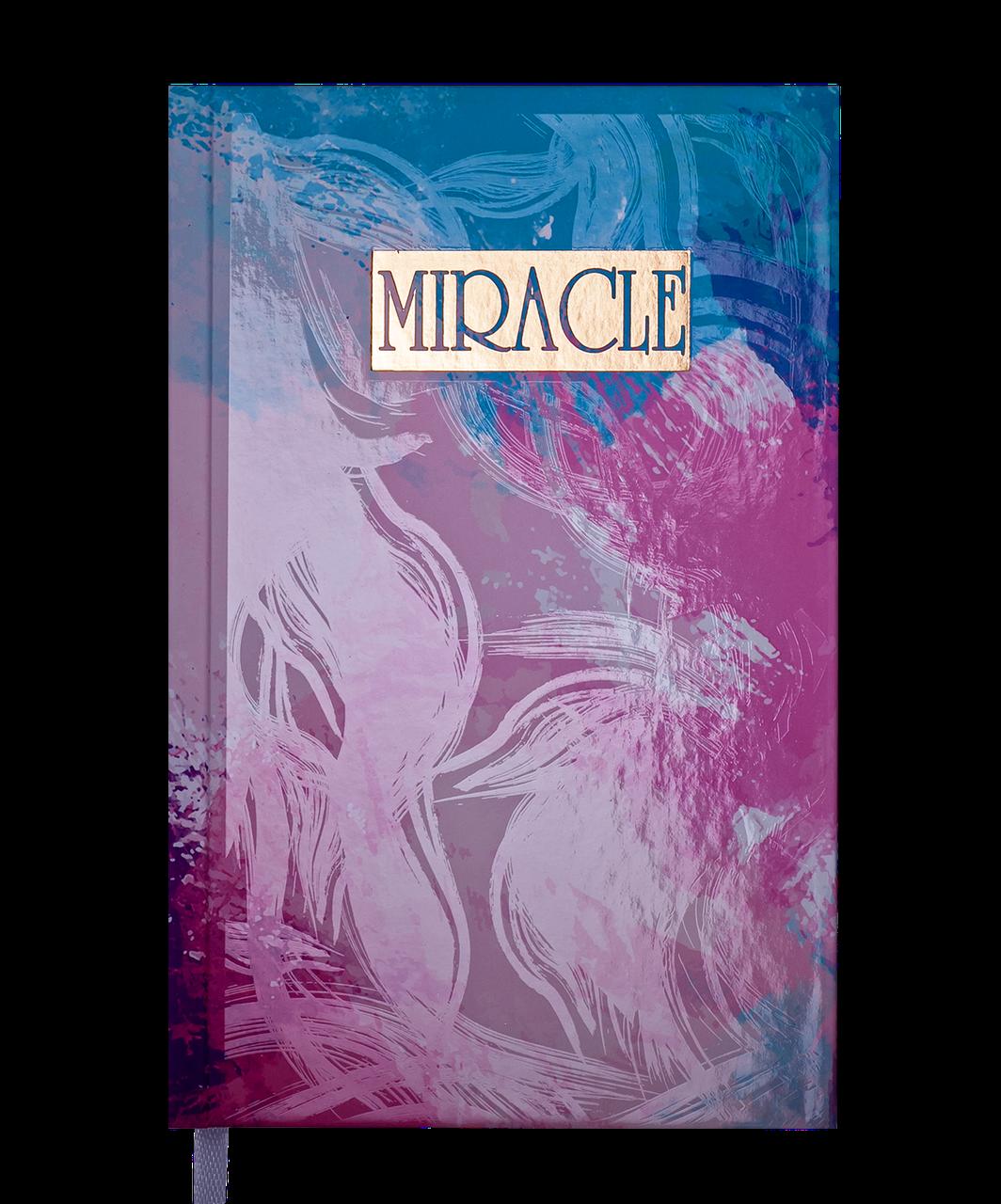Щоденник Buromax недат. MIRACLE, A6, фіолетовий