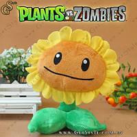 """Игрушка Подсолнух из Plants vs. Zombies - """"Sunflower""""- 17 х 11 см."""