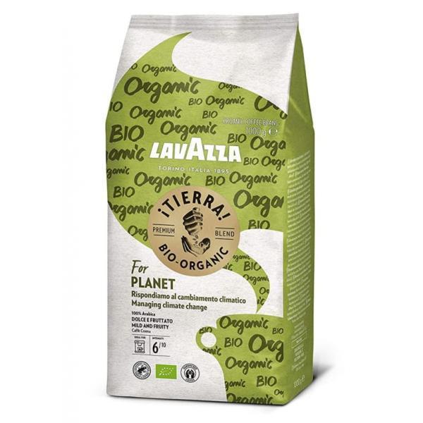 """Органічний кава в зернах Lavazza """"iTierra Bio Organic"""", 1 кг"""