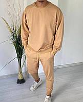 Чоловічий спортивний костюм зі штанами і свитшотом з двунити, фото 5