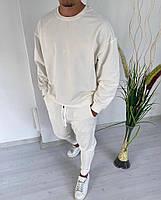 Чоловічий спортивний костюм зі штанами і свитшотом з двунити, фото 6