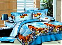 """Подростковые недорогие комплекты постельного белья, ткань поплин, """"Мадагаскар"""""""