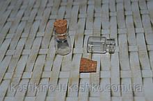 Мініатюра баночка (скло пробка)