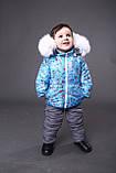 Зимние костюмы на девочку куртка и полукомбинезон, фото 9
