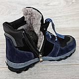 Ботинки подростковые зимние на меху (Сгд-4-1), фото 9