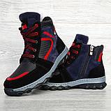 Зимові черевики підліткові на хутрі (Сгд-4-2), фото 4