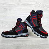 Зимові черевики підліткові на хутрі (Сгд-4-2), фото 7