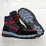 Зимові черевики підліткові на хутрі (Сгд-4-2), фото 8