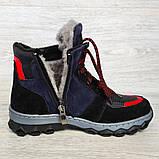 Зимові черевики підліткові на хутрі (Сгд-4-2), фото 9