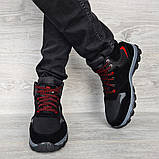 Чоловічі черевики євро зима чорні (СГЗ-5ч), фото 2