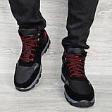 Чоловічі черевики євро зима чорні (СГЗ-5ч), фото 3