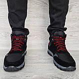 Чоловічі черевики євро зима чорні (СГЗ-5ч), фото 4