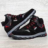 Чоловічі черевики євро зима чорні (СГЗ-5ч), фото 5