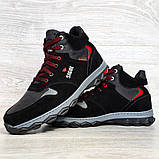 Чоловічі черевики євро зима чорні (СГЗ-5ч), фото 7