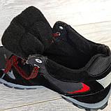 Чоловічі черевики євро зима чорні (СГЗ-5ч), фото 8
