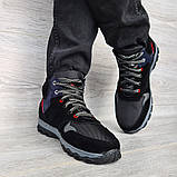 Мужские ботинки евро зима утепленные байкой (Сгз-5-3), фото 3
